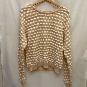 Cooperative by UO - Pink Puffy Cloud Sweater